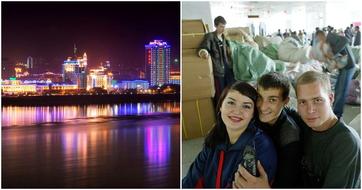 Хрущобы против небоскребов. Как живут на границе России и Китая (30 ФОТО)