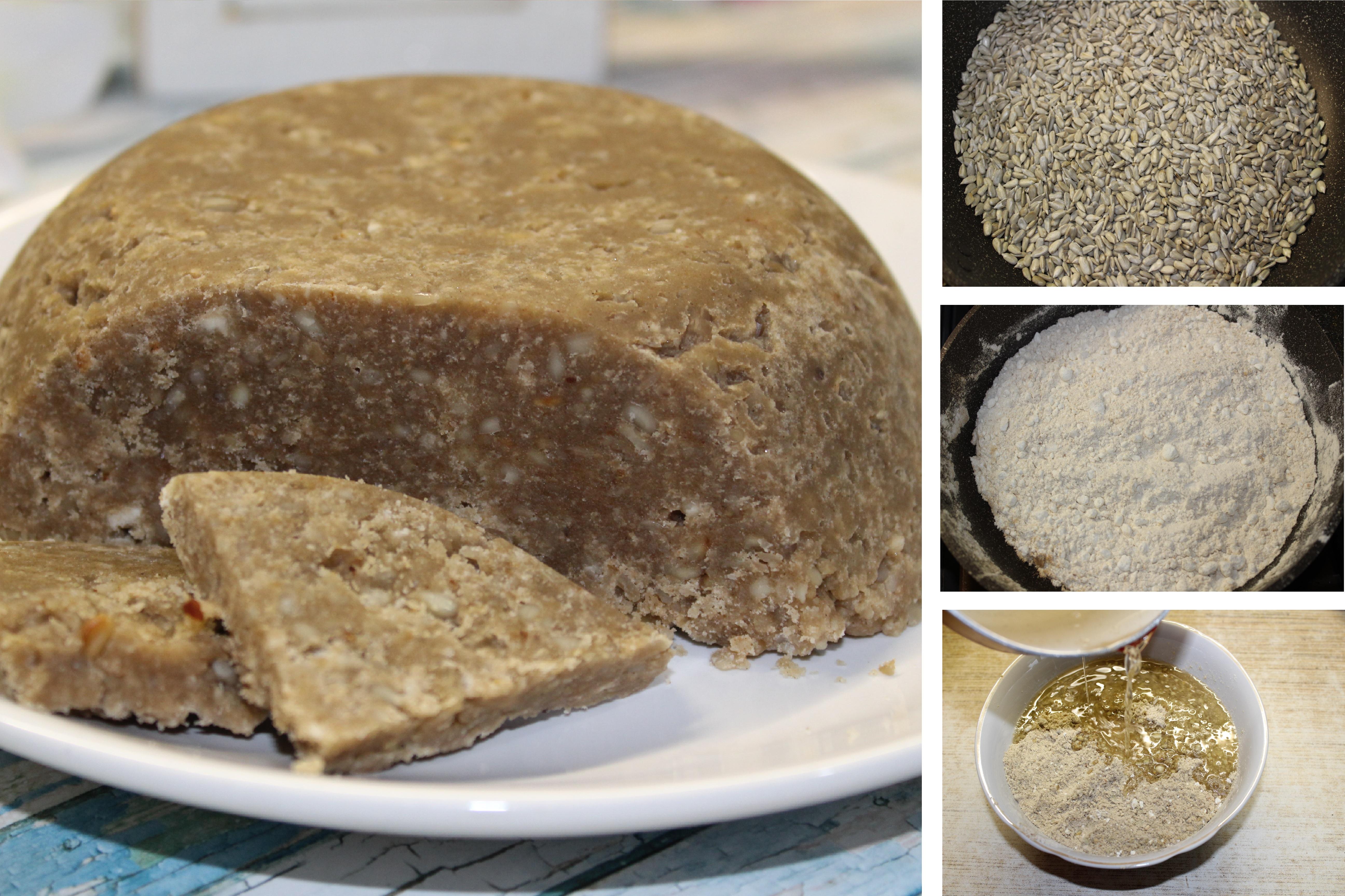 Нежная халва из семечек: пошаговый фото рецепт
