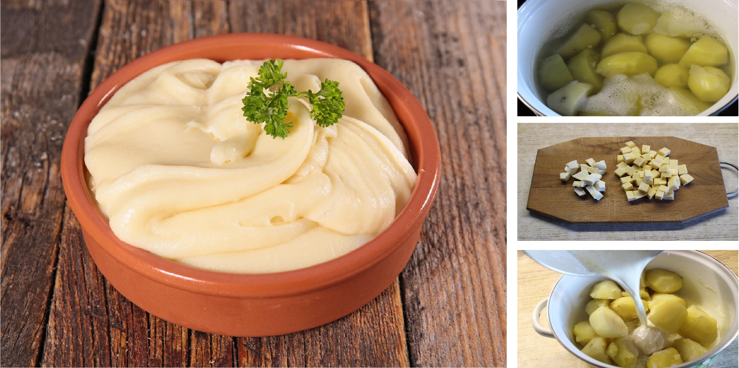 Алиго - французский шедевр из обычных продуктов: пошаговый фото рецепт