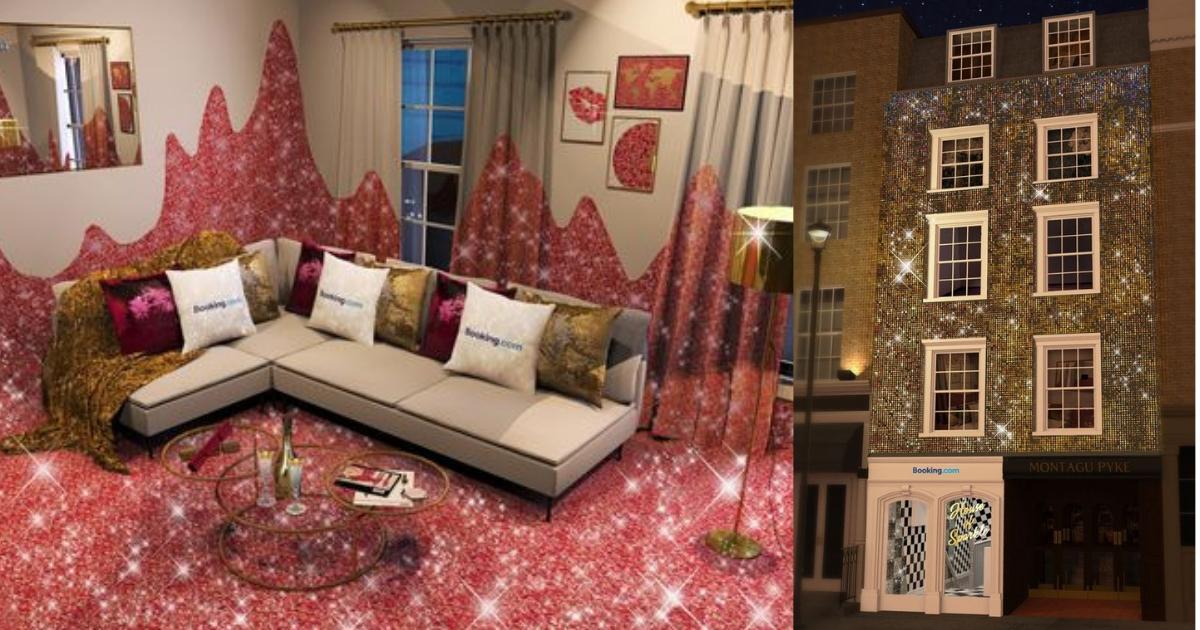 Сияй как бриллианты: самый блестящий дом в мире открыт для аренды