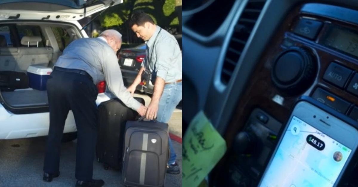 Снова в бой: 85-летний старик из Техаса работает в Uber