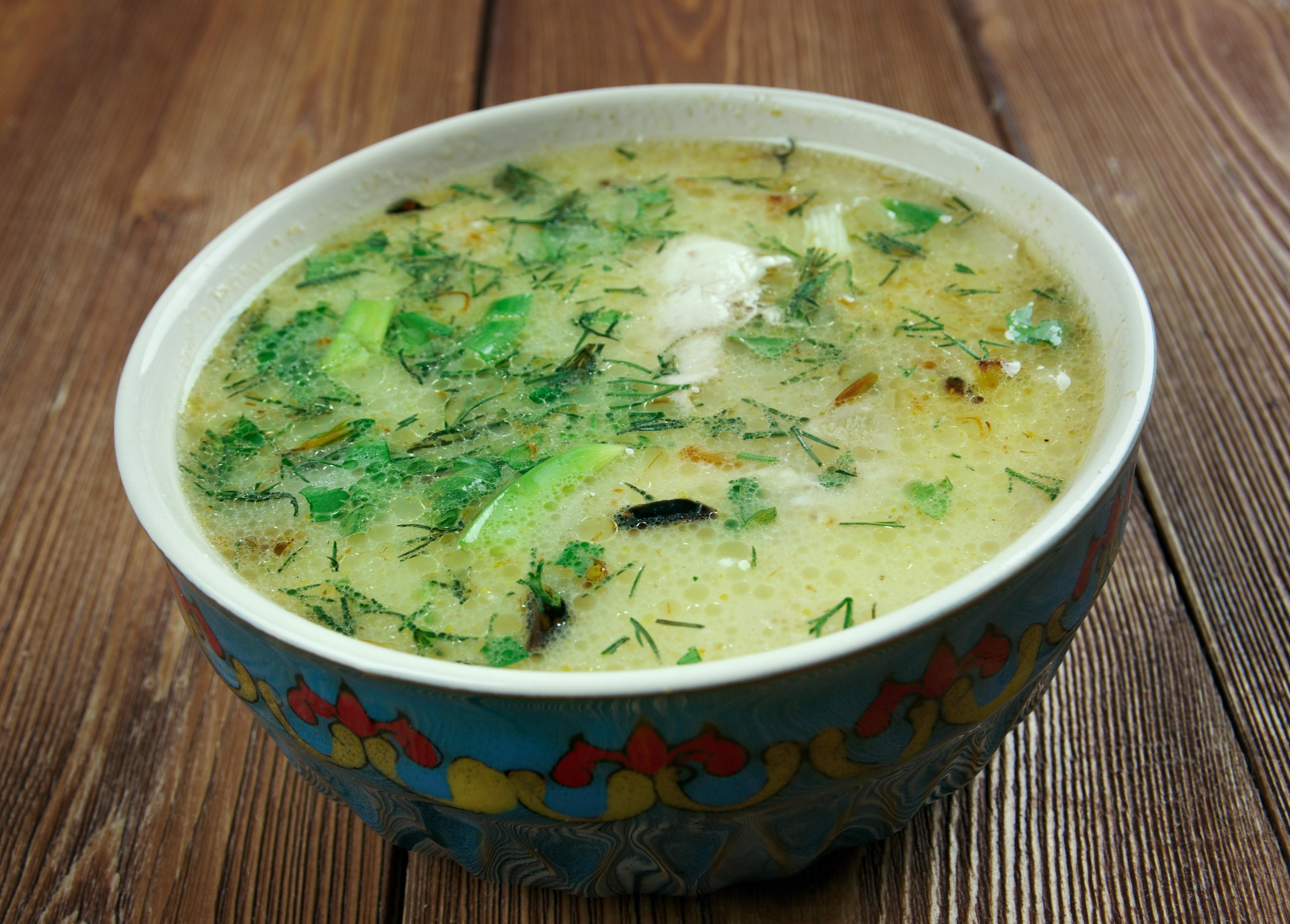 Чихиртма – грузинский куриный суп