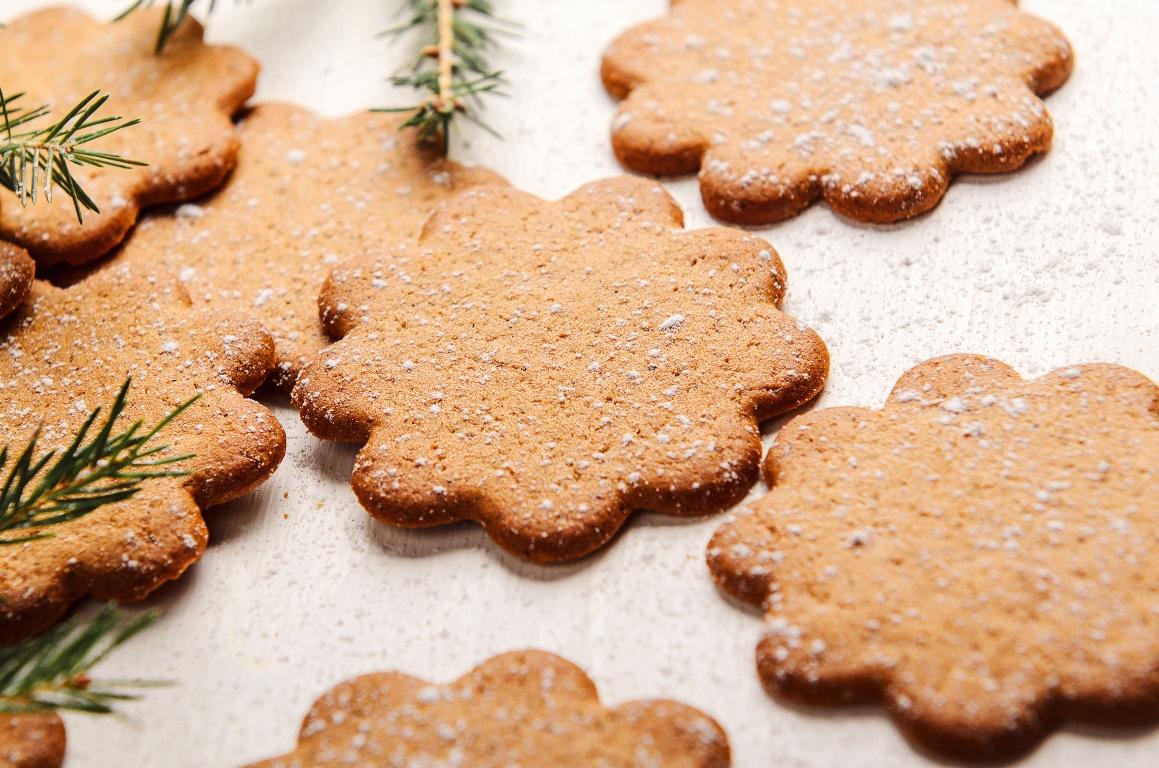 Ароматное имбирное печенье