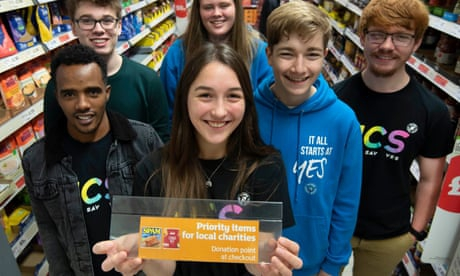 Photo of Sainsbury's launches scheme labelling items useful to food banks