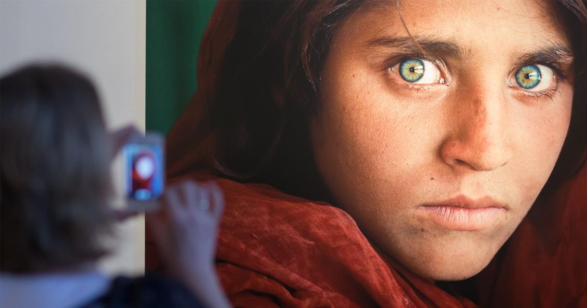 """Фото Афганская """"Мона Лиза"""": история самой знаменитой фотографии XX века"""