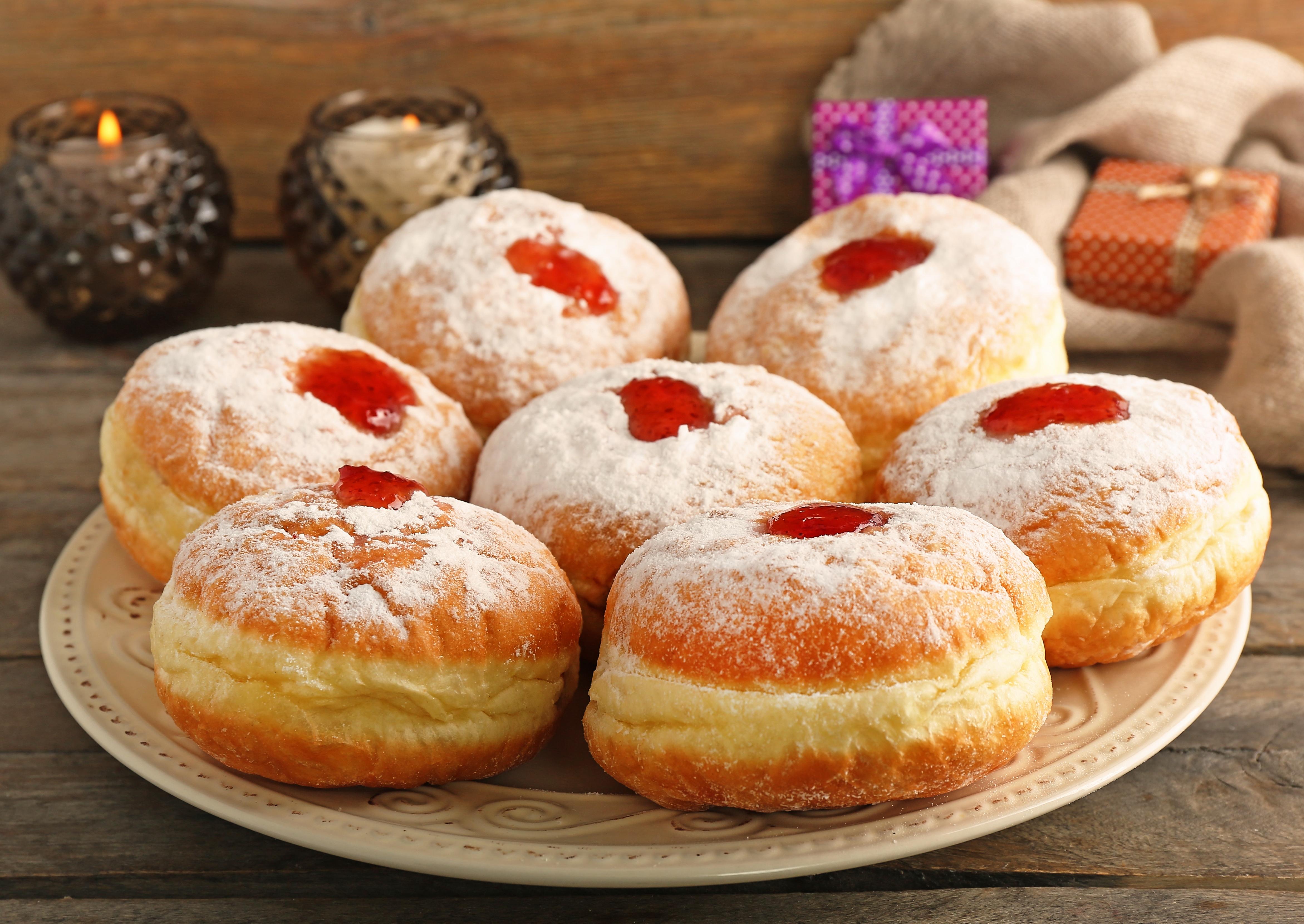 Еврейские пончики на Хануку