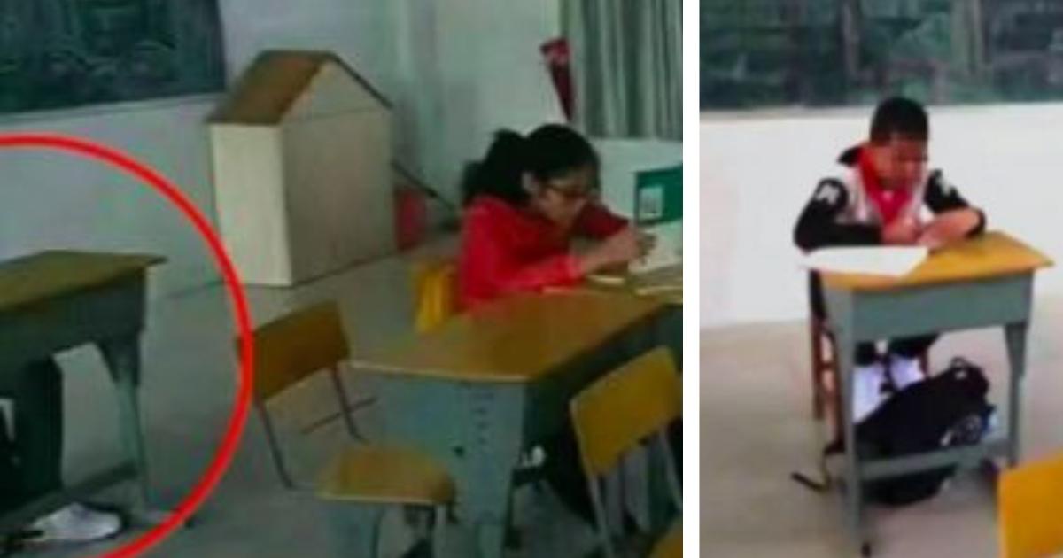 Фото Китайский учитель отсадил ученика, поскольку думал, что рак заразен