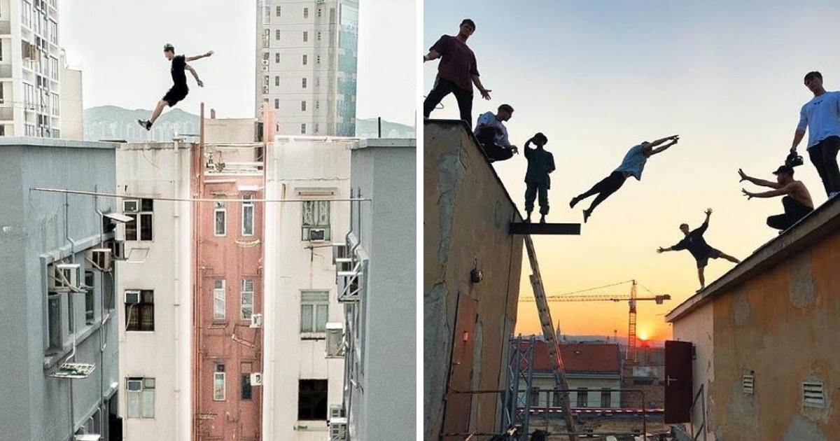 Фото 6 британцев были депортированы из Индии за экстремальные трюки на высоте