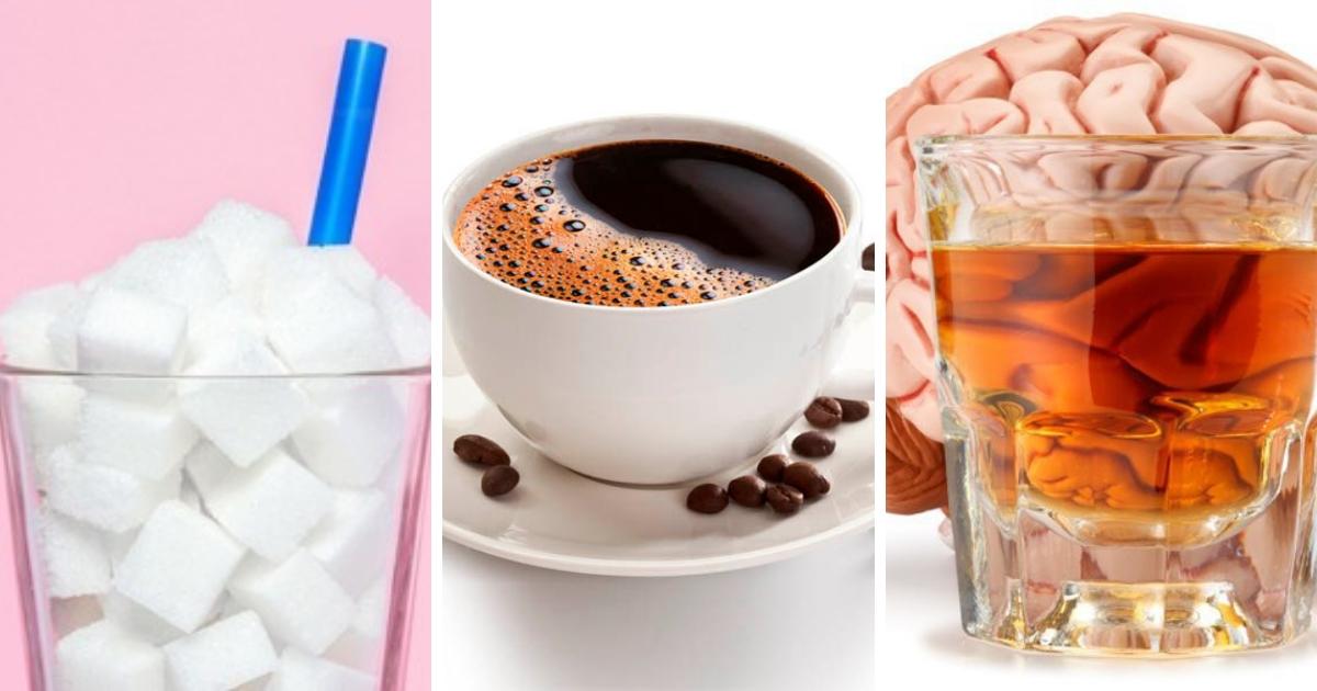Кофе, никотин, алкоголь и сахар: как психоактивные вещества влияют на наш мозг