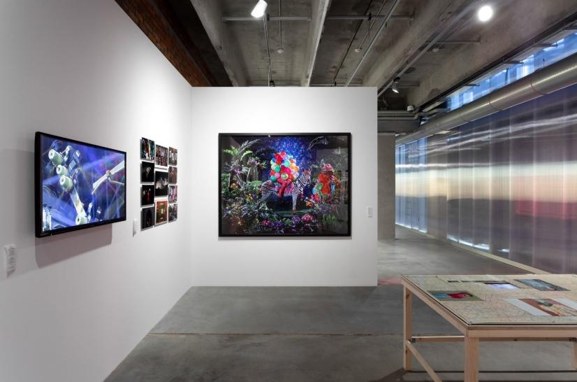 Выставка «Ткань процветания» в «Гараже»