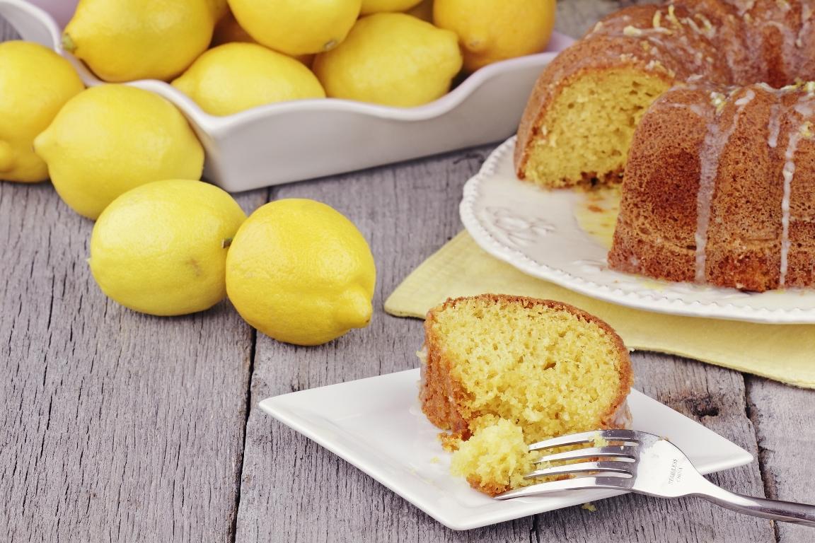 Нежнейший лимонный кекс