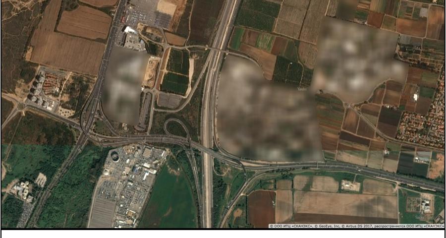 Фото [Перевод] Повсеместное размытие спутниковых фотографий раскрывает местонахождение секретных баз