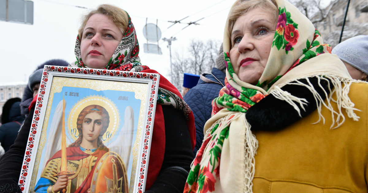 Фото Патриарха Украины не будет. Что за церковь создали в Киеве?