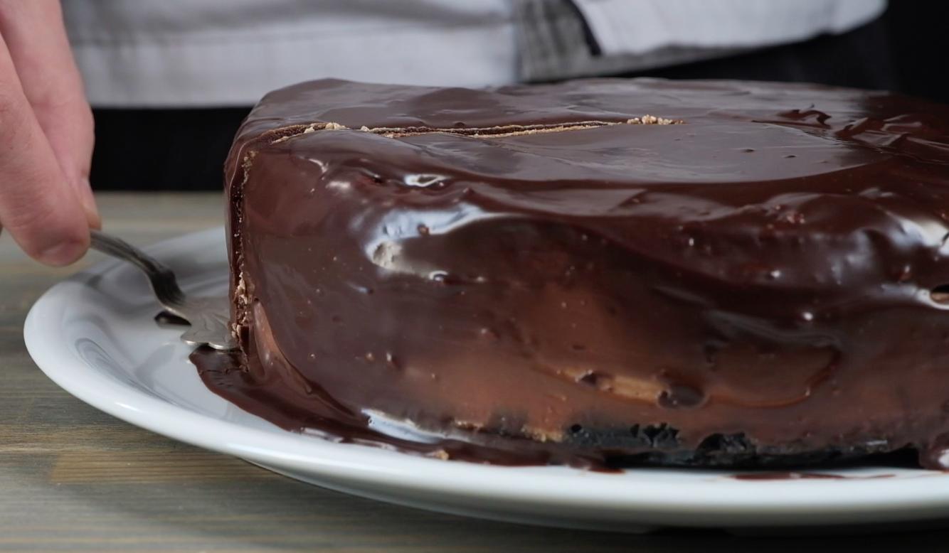 Шоколадный чизкейк: видео рецепт и пошаговые фото