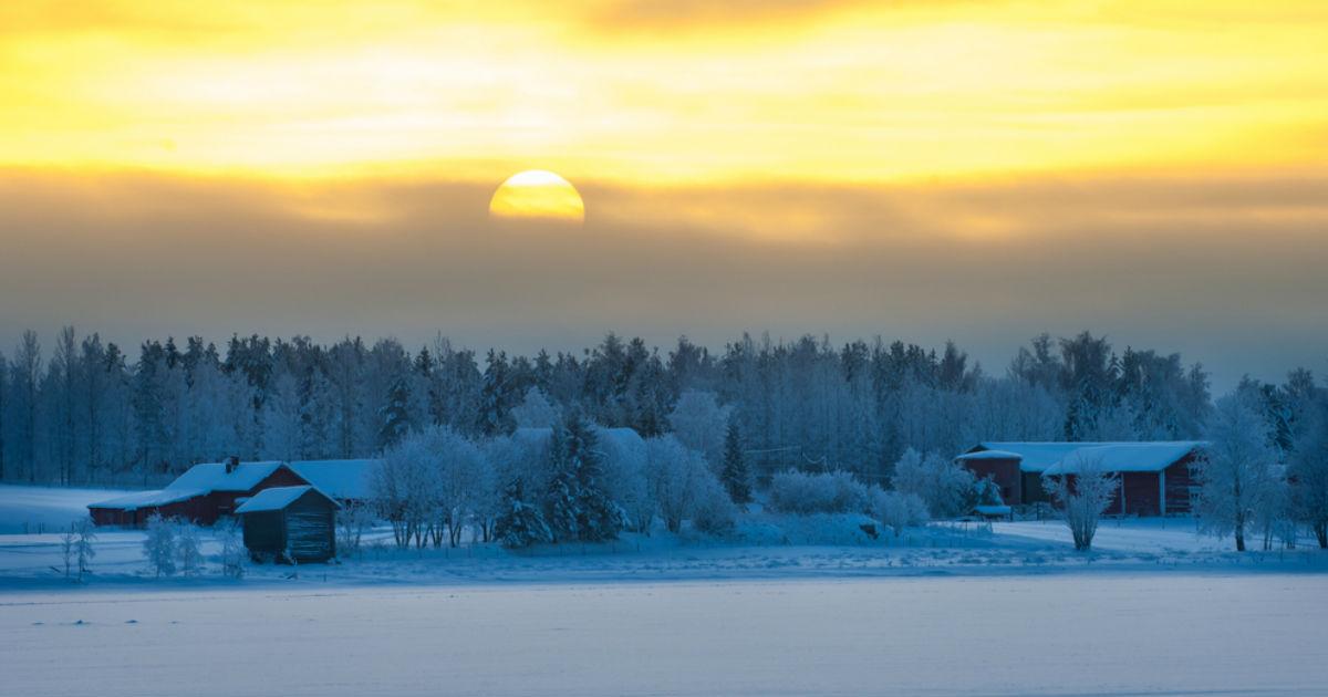 Фото Зимнее солнцестояние. Когда станет светло?
