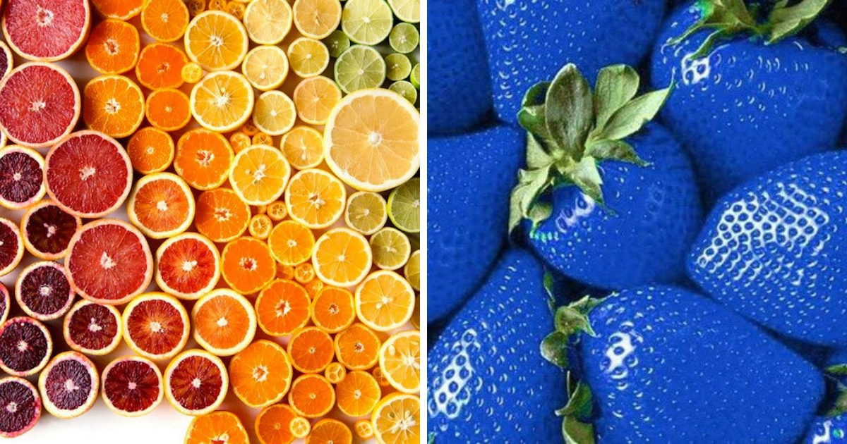 Фото Съешь меня: как цвет еды и напитков влияет на их вкус?