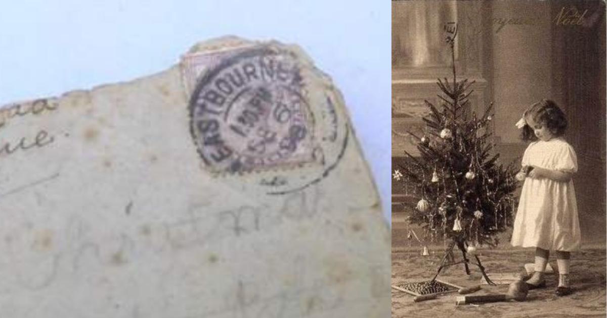 Фото Найдено письмо Санта Клаусу, написанное 120 лет назад