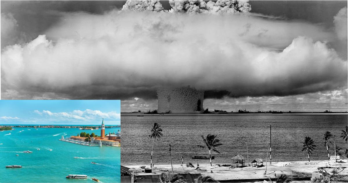 Когда лагуны стали лагунами, или Как бикини связано с ядерными испытаниями?