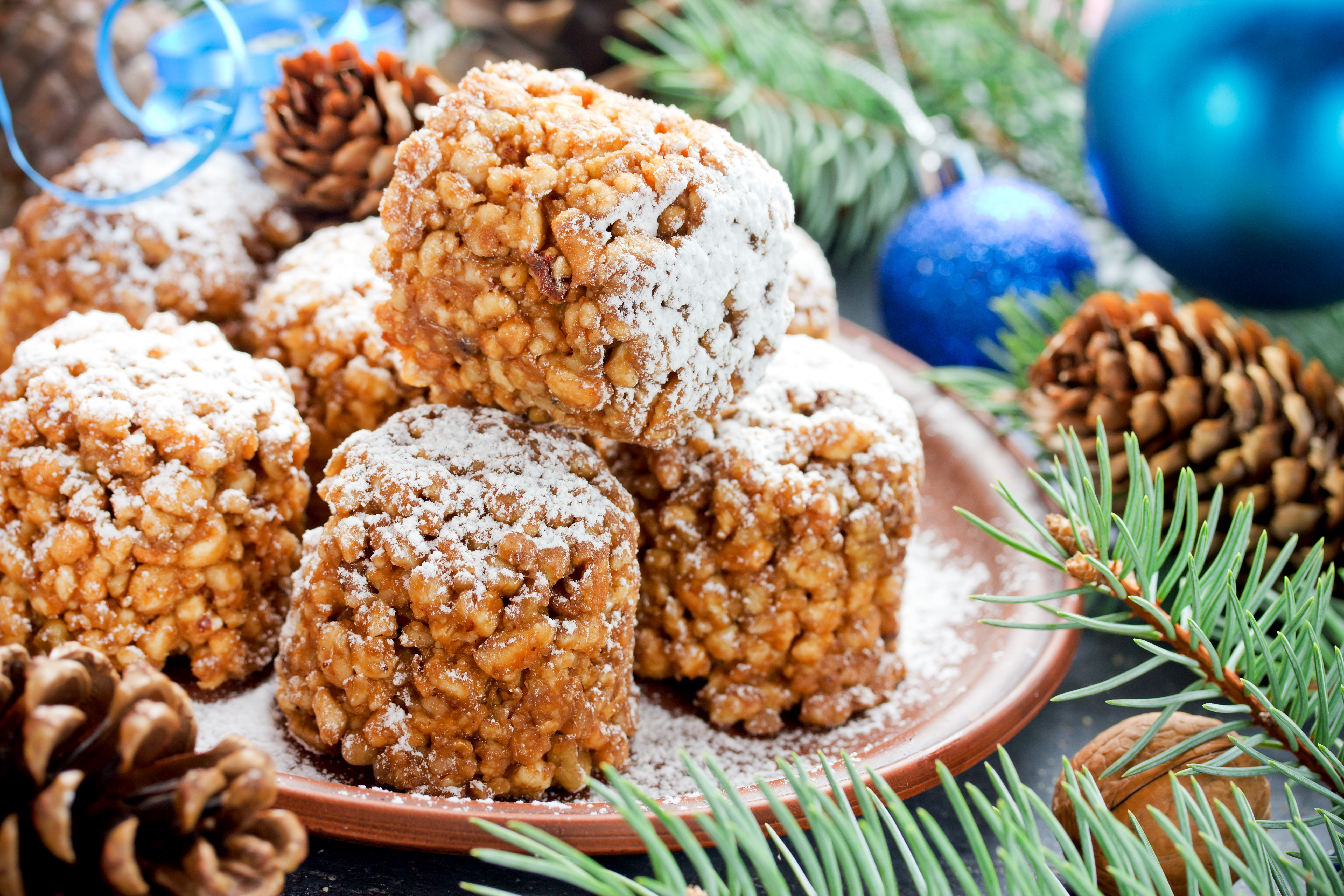 Печенье «Новогодние шишки»: пошаговые фото