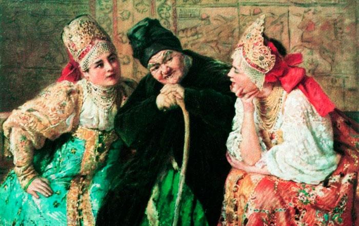 Фото Судьба старых дев: что сулила встреча свековухой