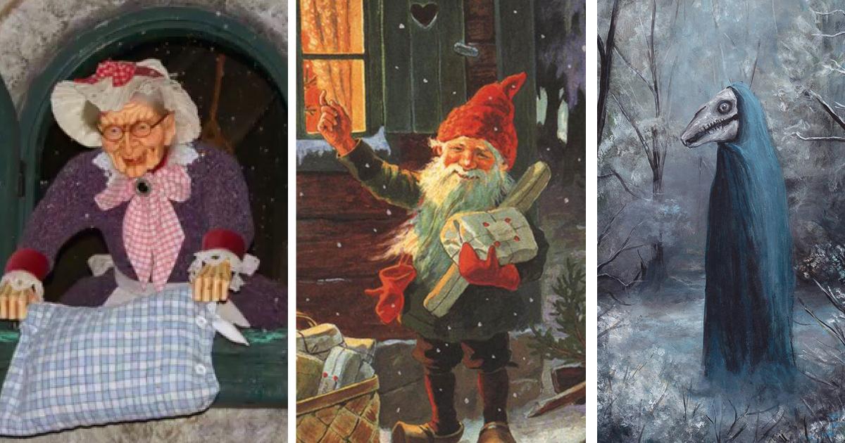 Сказочная вселенная: какие существа приходят в дом на Рождество?