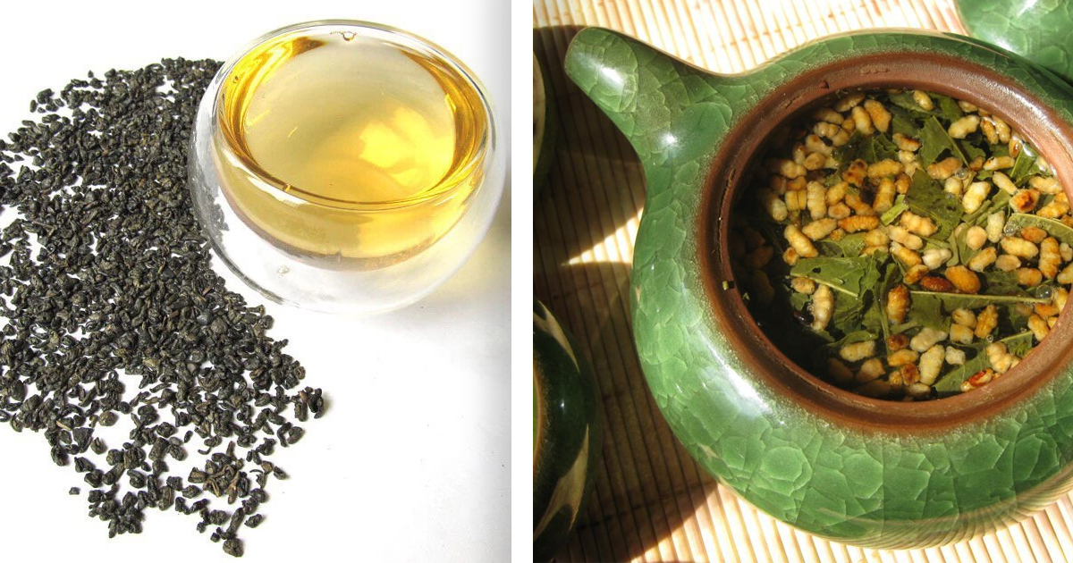 Фото Гэммайтя и чай Порох: самые интересные сорта чая