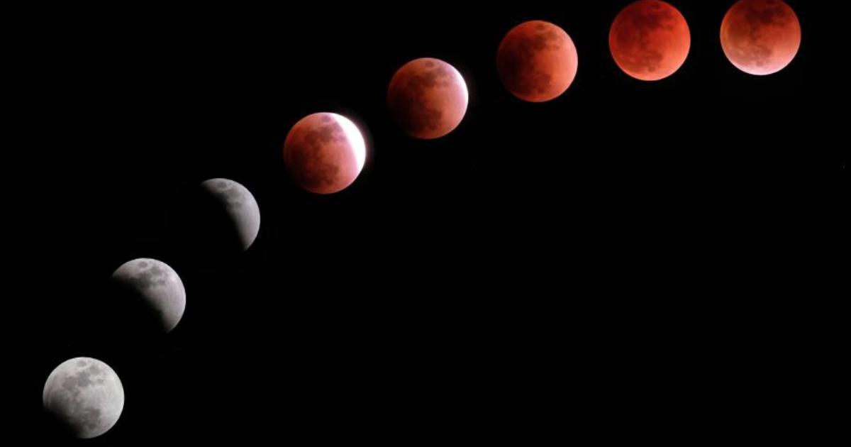 Редкое лунное затмение в январе: где и когда смотреть?