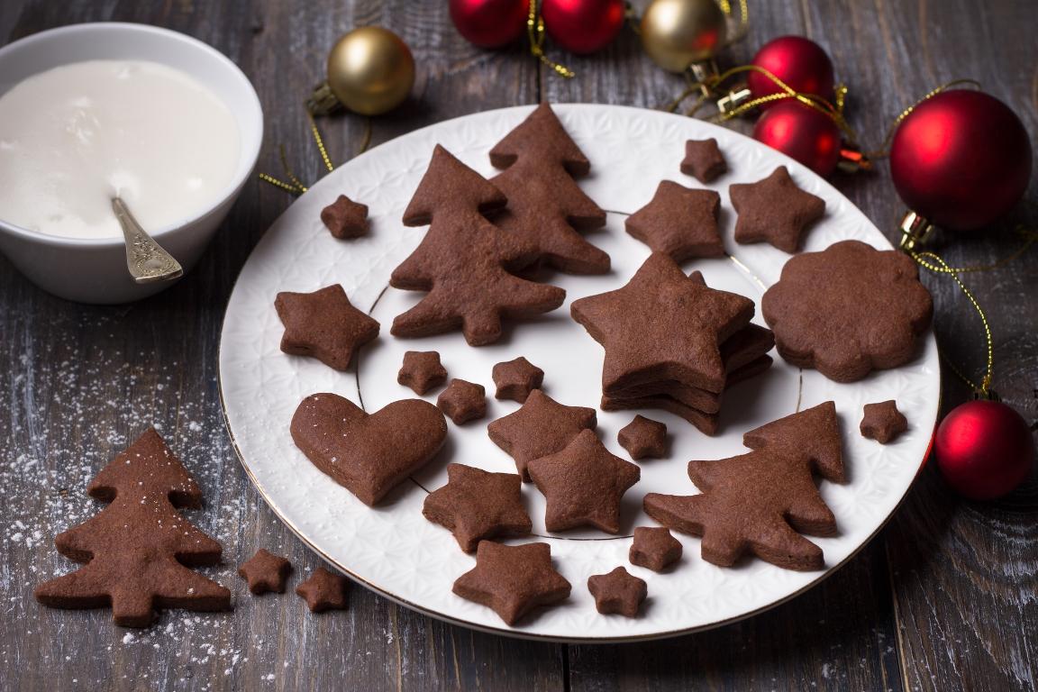 Домашнее шоколадно-имбирное печенье