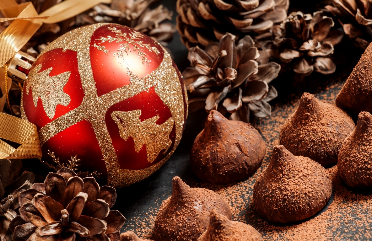 Вкуснейшие шоколадные трюфели