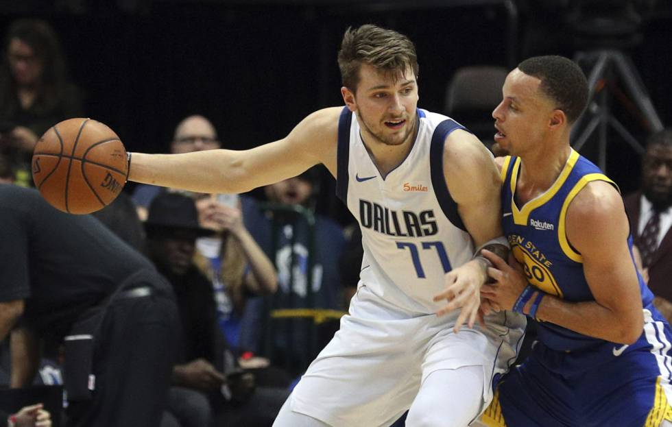 Photo of Stephen Curry se dispara con 48 puntos para contener a Doncic