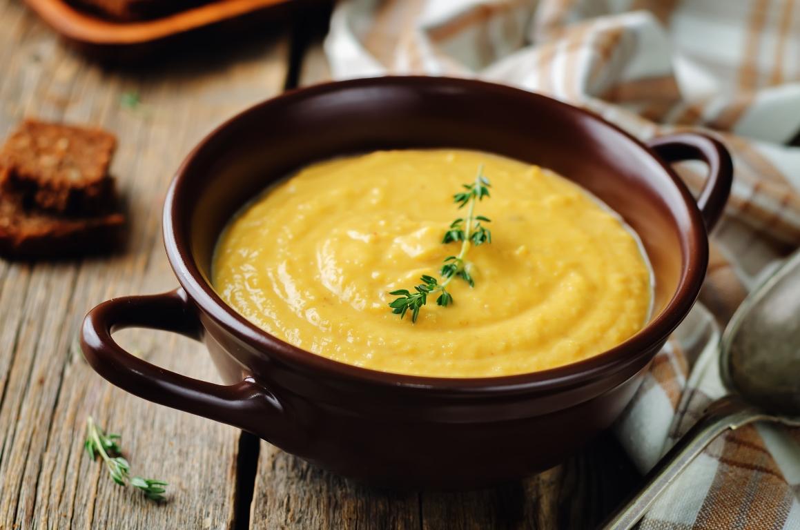 Аппетитный кукурузный крем-суп