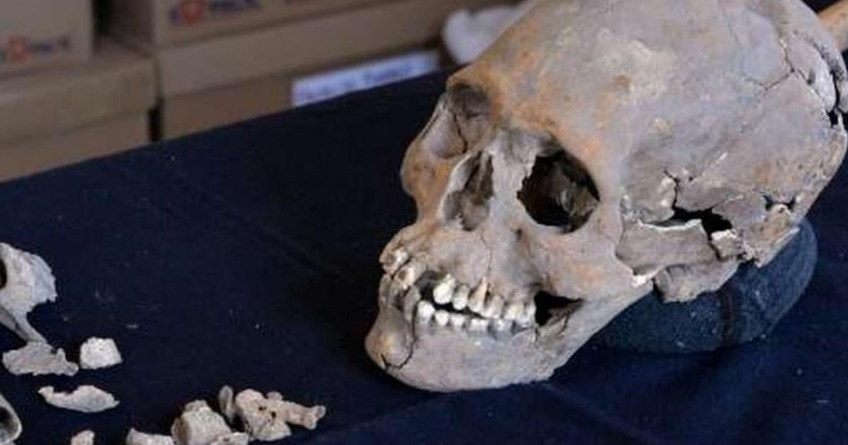 Найдены останки женщины из прошлого тысячелетия
