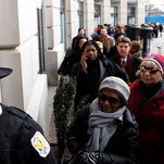 In Shadow of Trump Hotel, Unpaid Federal Workers Find Help