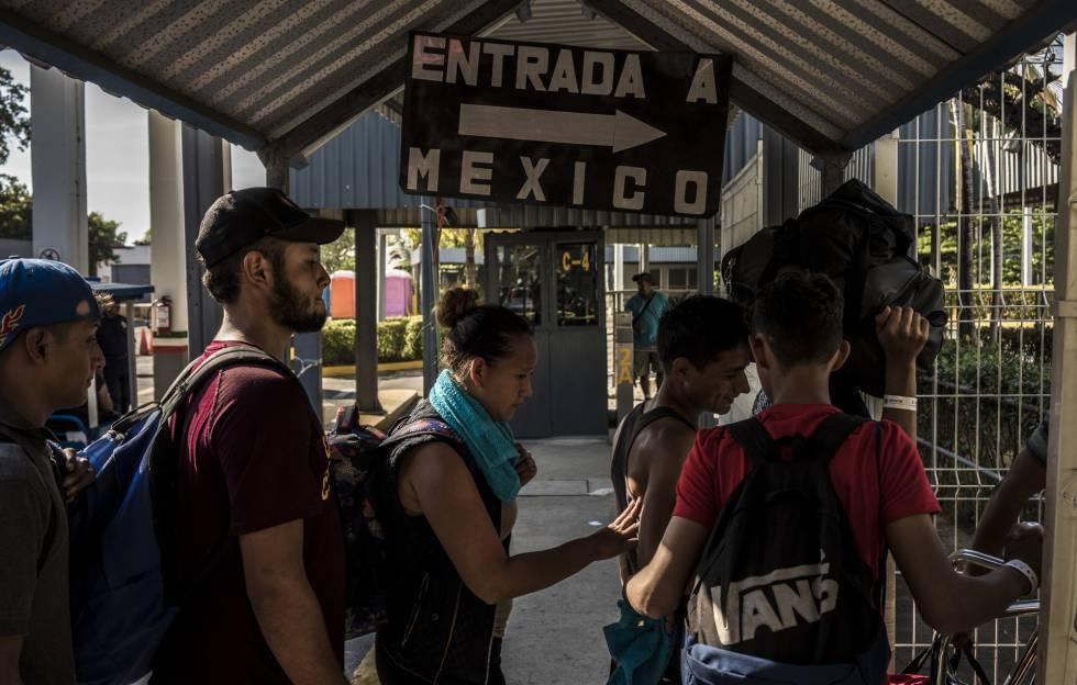 Photo of México abre las puertas a la caravana migrante