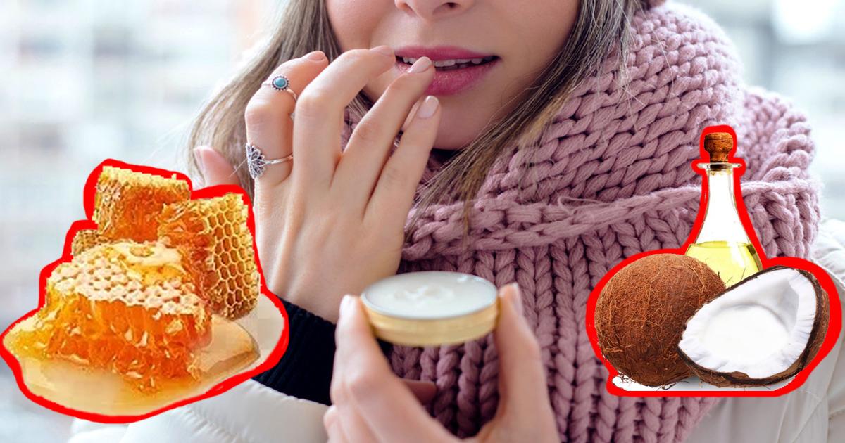 Трещины на губах: чем защитить губы от мороза