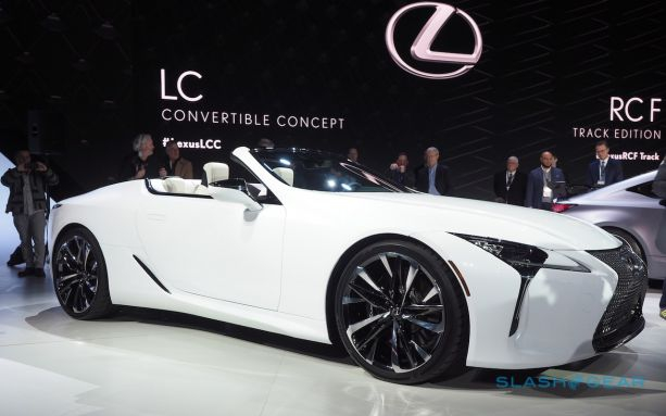 Photo of Lexus LC Convertible first look: two questions and an answer