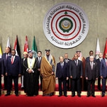 A League of Their Own, as Few Arab Leaders Attend Summit