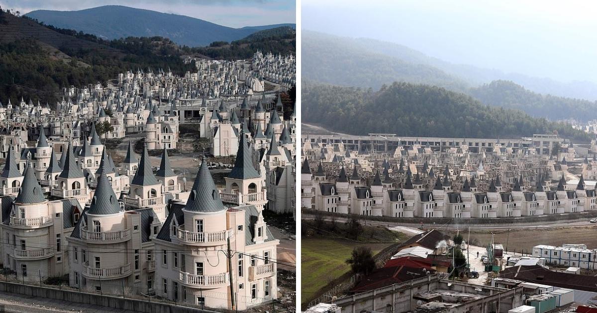 Мрачная сказка: как из-за нехватки денег в Турции пустуют сотни одинаковых замков