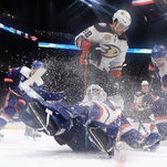 Comeback Season for Robin Lehner Spurs the Islanders' Resurgence