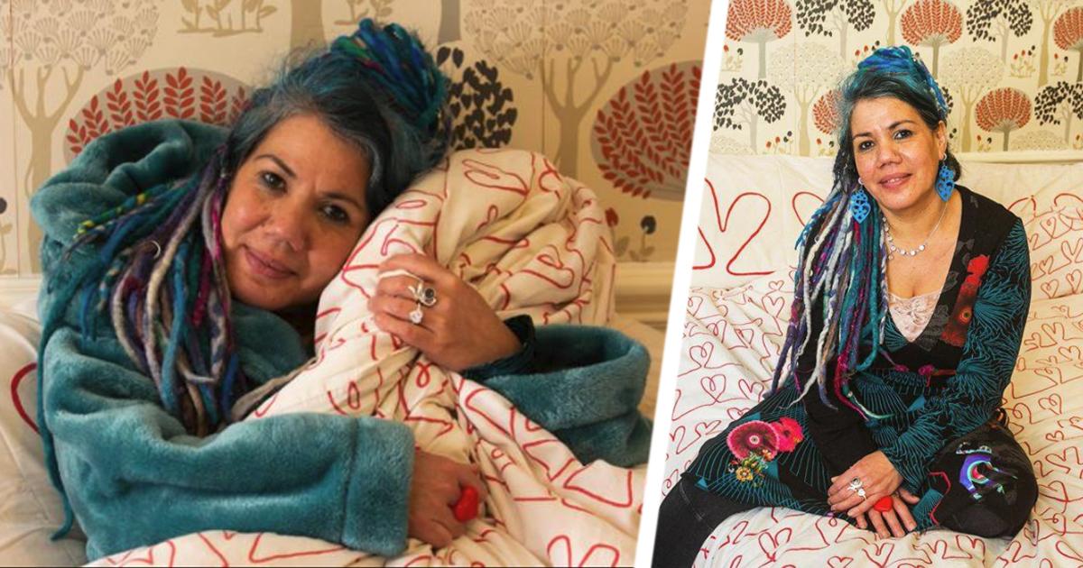 Фото Вечная любовь: художница собралась замуж за любимое одеяло