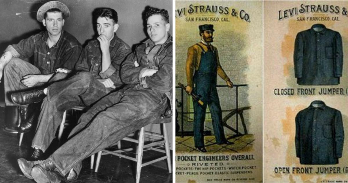 Фото Джинсы: краткая история штанов для фермеров и шахтеров