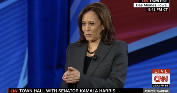 """Photo of More Kamala Harris: What kind of civil society tolerates """"assault weapons"""" in the people's hands?"""