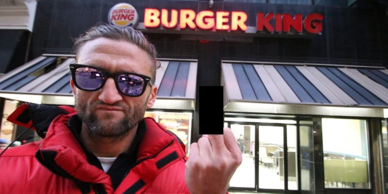 Photo of Influencer Casey Neistat rips Burger King for exploiting him