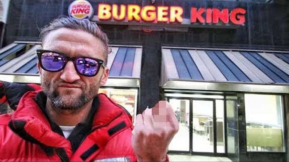 Photo of Casey Neistat is 'mad' at Burger King for their marketing ploy