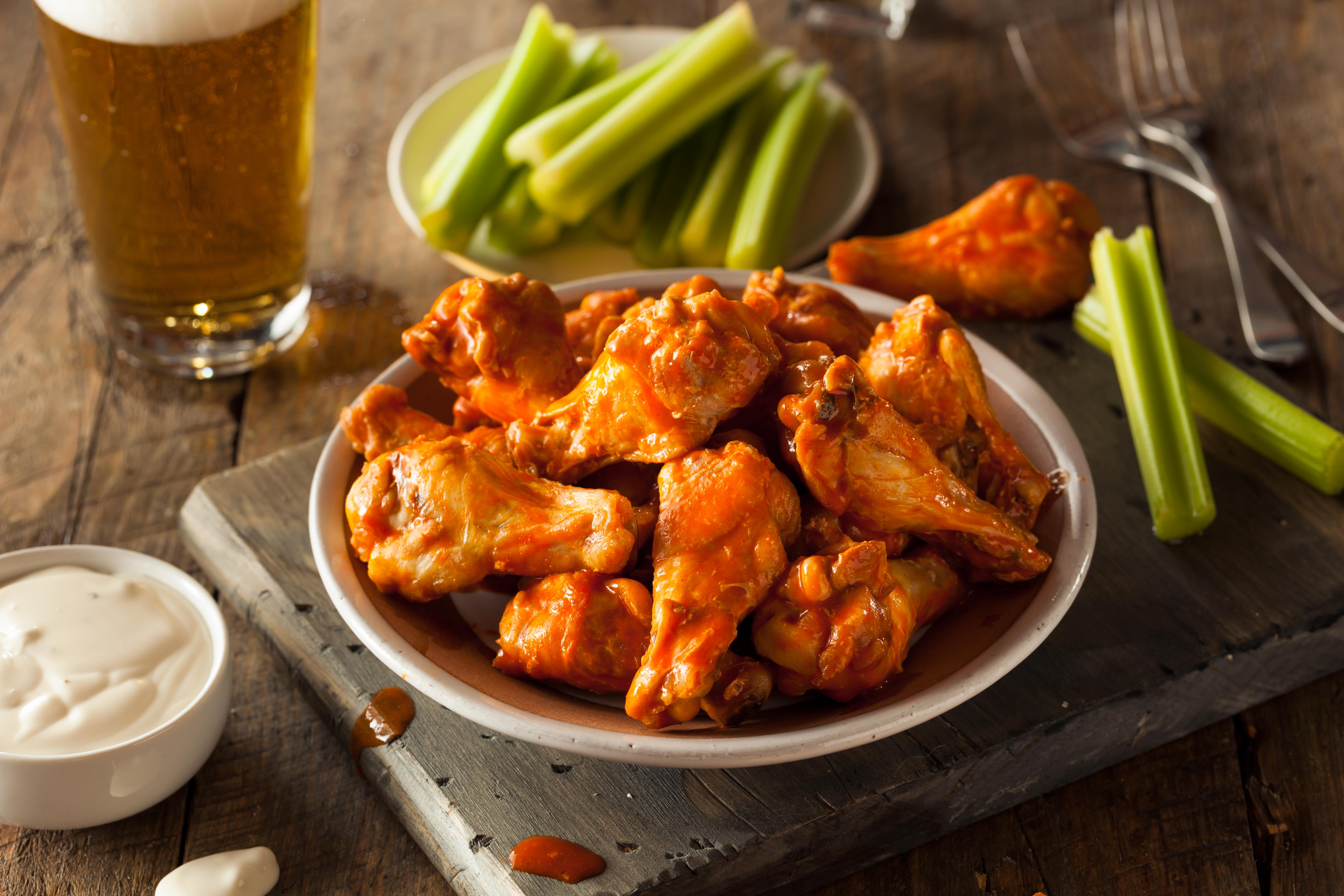 Крылышки «Баффало» – для мужчин с аппетитом!