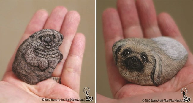 Photo of Japanese Artist Turns Stones Into Cute Animals You Can Hold In The Palm Of Your Hand