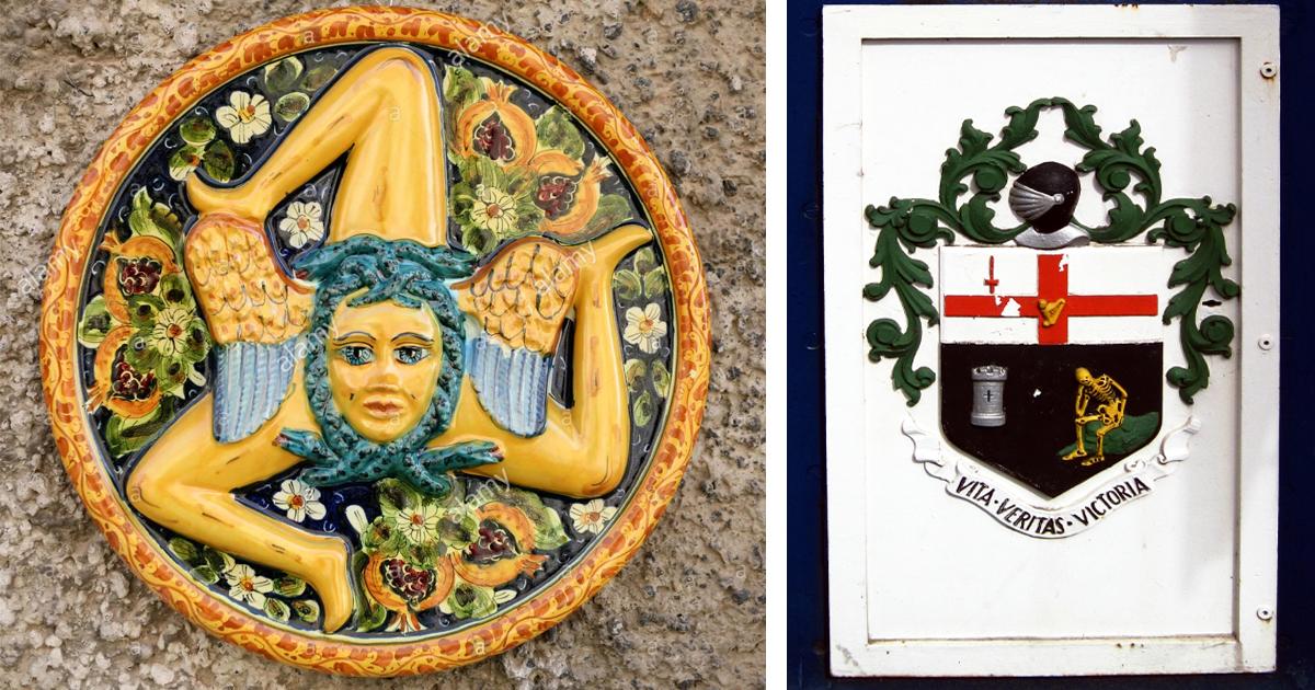 Странные гербы со всего мира, которые таят в себе глубокий смысл