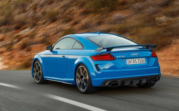 Photo of Audi TT RS Coupe and Roadster pack 400 horsepower five-banger