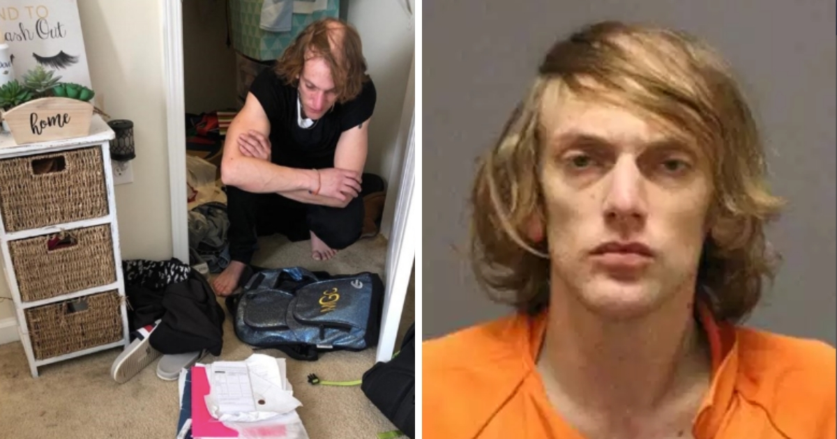 Фото Голос из шкафа: американка обнаружила в шкафу уголовника