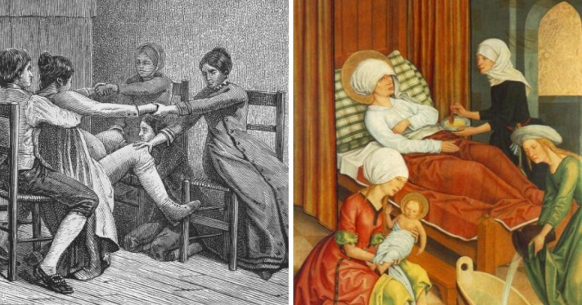Фото Зерно и вино: как определяли беременность в древности